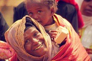 afrikalı anne